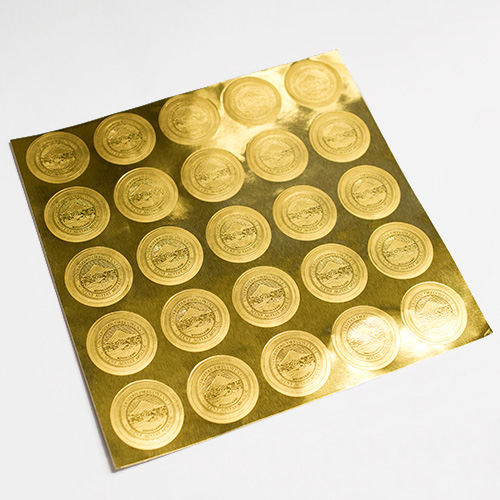 Gold Foil Seals University of Oregon Seal 25pk